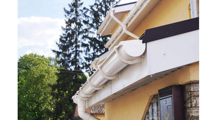 Водосточные системы для домов из сип-панелей