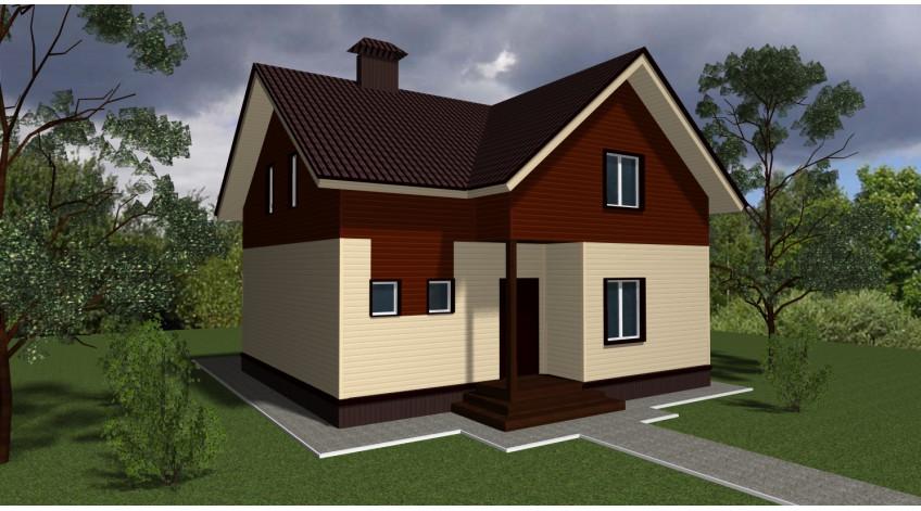 Современные проекты домов из СИП-панелей