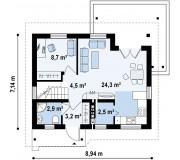 Проект дома СК-93