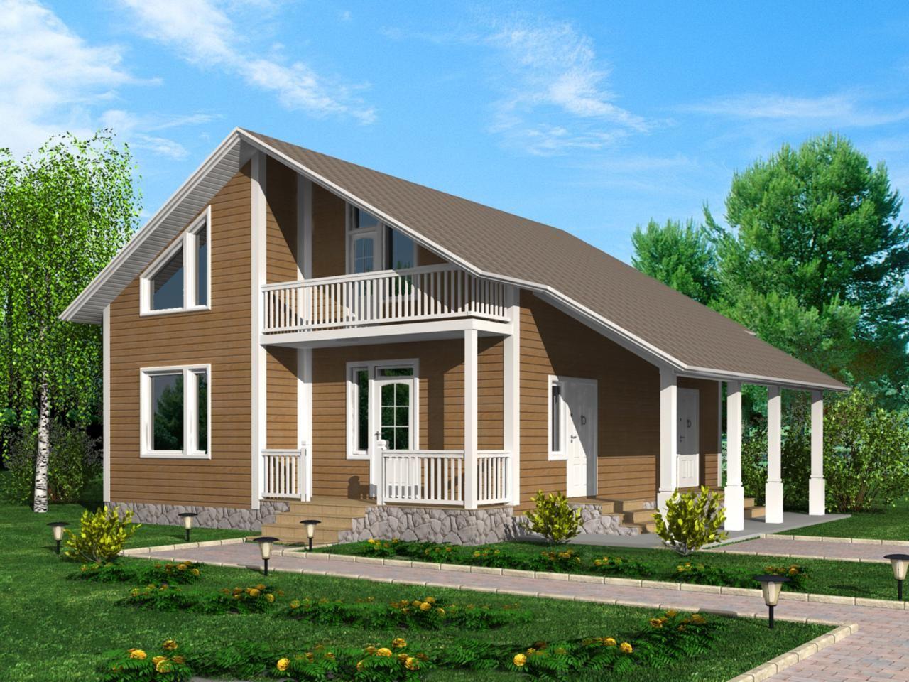 построение дома из сип панелей