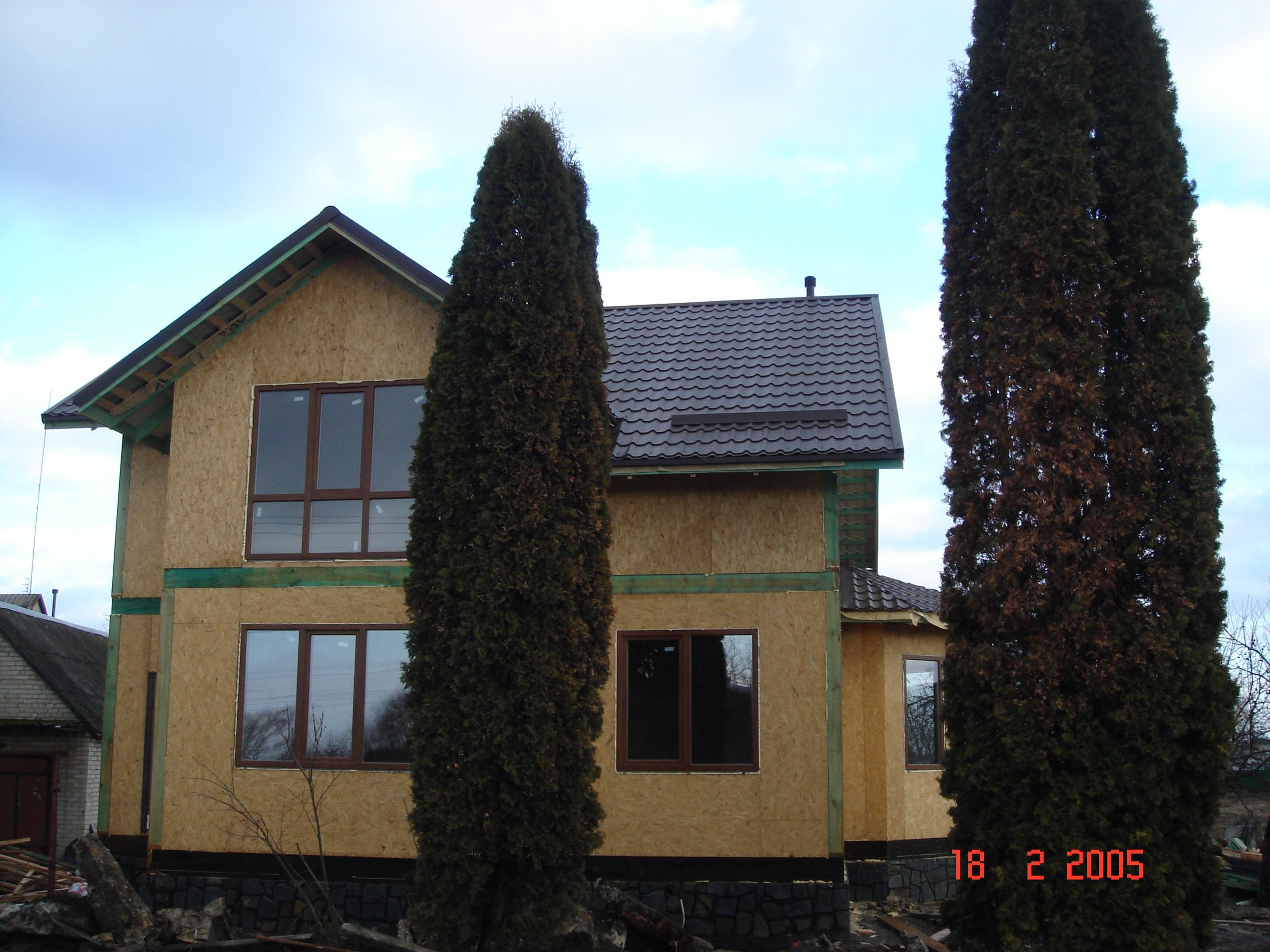Дом, построен по канадской технологии - фото