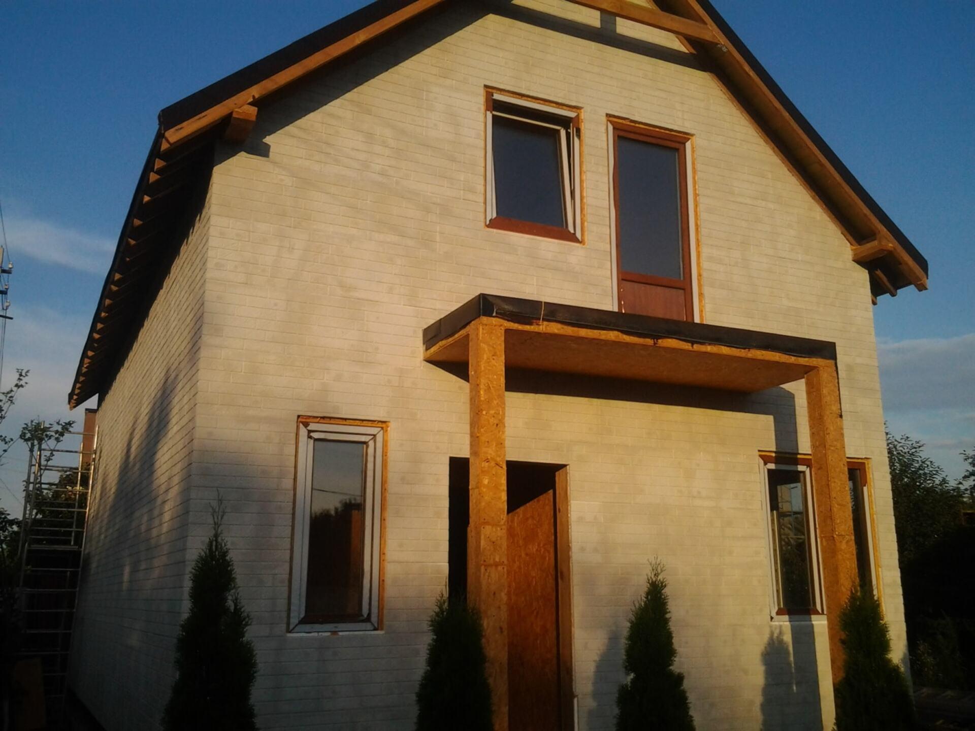 Дом из сип-панелей - фото