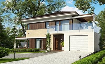 готовые проекты домов из sip-панелей