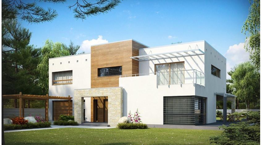 Дома из СИП панелей с плоской крышей