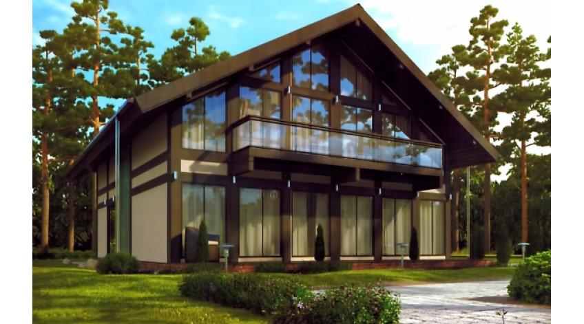 Будинок з СИП панелей з мансардою: який тип даху вибрати?