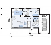 Home plan SK-123