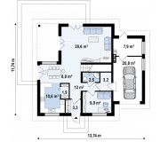 Проект будинку СК-202