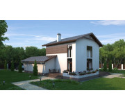 """Two storeyed house with garage """"Spacious"""" 1851 sq ft"""