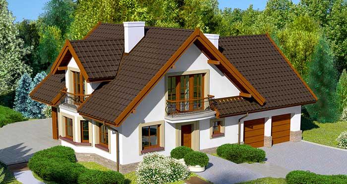 Проект дома из SIP панелей