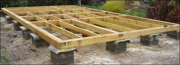 Столбчатый фундамент для дома из СИП-панелей