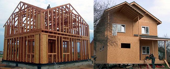 побудова будинків із сіп-панелей