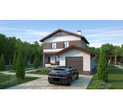 "Two storeyed house with garage ""Spacious"" 1851 sq ft"